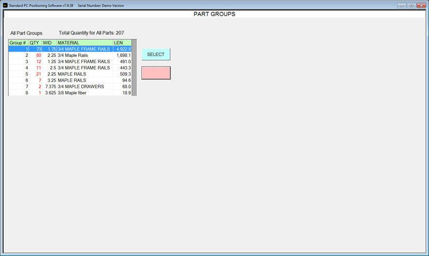 Grouping List