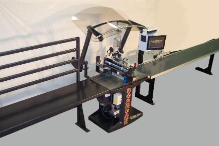 RazorOptimal saw system shown with a space ball inserter and RazArray options.