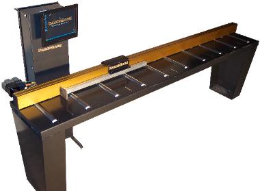 RazorGage ST linear positioner shown with a Tower PC Chassis including 17-inch touch screen.