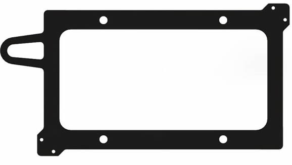 """Your Android 7.1"""" tablet can be mounted and secured to your RazorGage automated saw system with this 70B mounting plate."""