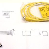 This replacement cable kit with 4-pin cable, connector and schematic is for the MicroLynx Drive on your RazorGage positioner or automated saw system.