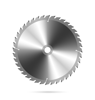 Use this 18-inch TSI saw blade for cutting wood on your RazorOptimal Down-cut saw system from RazorGage.