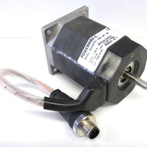 The stepper motor for use with MicroLynx drives the belt to position the carriage and is available from RazorGage along with many other replacement parts.