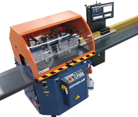When you need to program angle cuts, RazorGage has the AngleMaster programmable push feed saw system.