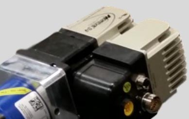 RazorGage positioner electronics within chip-resistant IP54-rated enclosure.